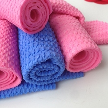 glass 3D chamois cleaning cloths towel manufacturer in jiangxi (XJTW4)