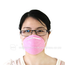 2014 Free Samples cleanroom disposable earloop dental cone face mask