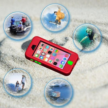 waterproof case for iphone 5, for iphone 5s waterproof shockproof case
