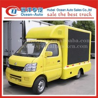 mini LED Truck and led mobile stage truck for sale