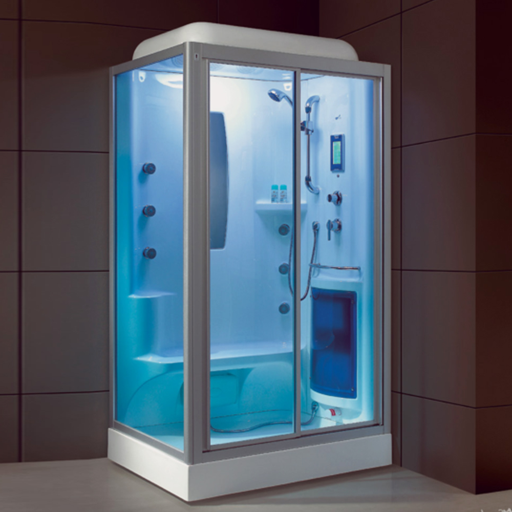 HS-SR2270T with foot massage 120x90cm tray enclosed aroma steam bath