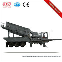 2013 hot sale ISO and CE certified cone crawler mobile crusher