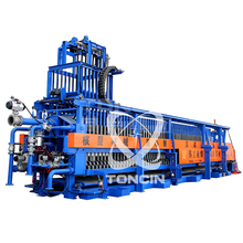 Hydraulic automatic vacuum sewage filter press in industry