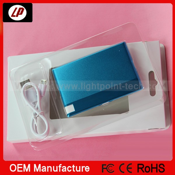 2014 new design Polymer lithium battery mobile power bank and power bank charger USB cable with power bank 10000mah