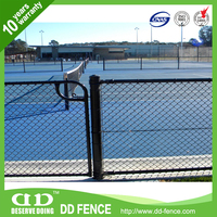 Low carbon residential wrought iron/road security chain link fencemade in China