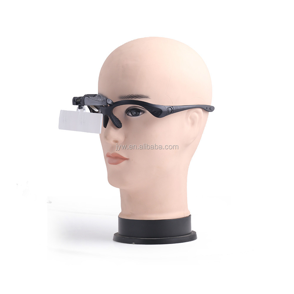 BIJIA adjustable magnification led working headband magnifier