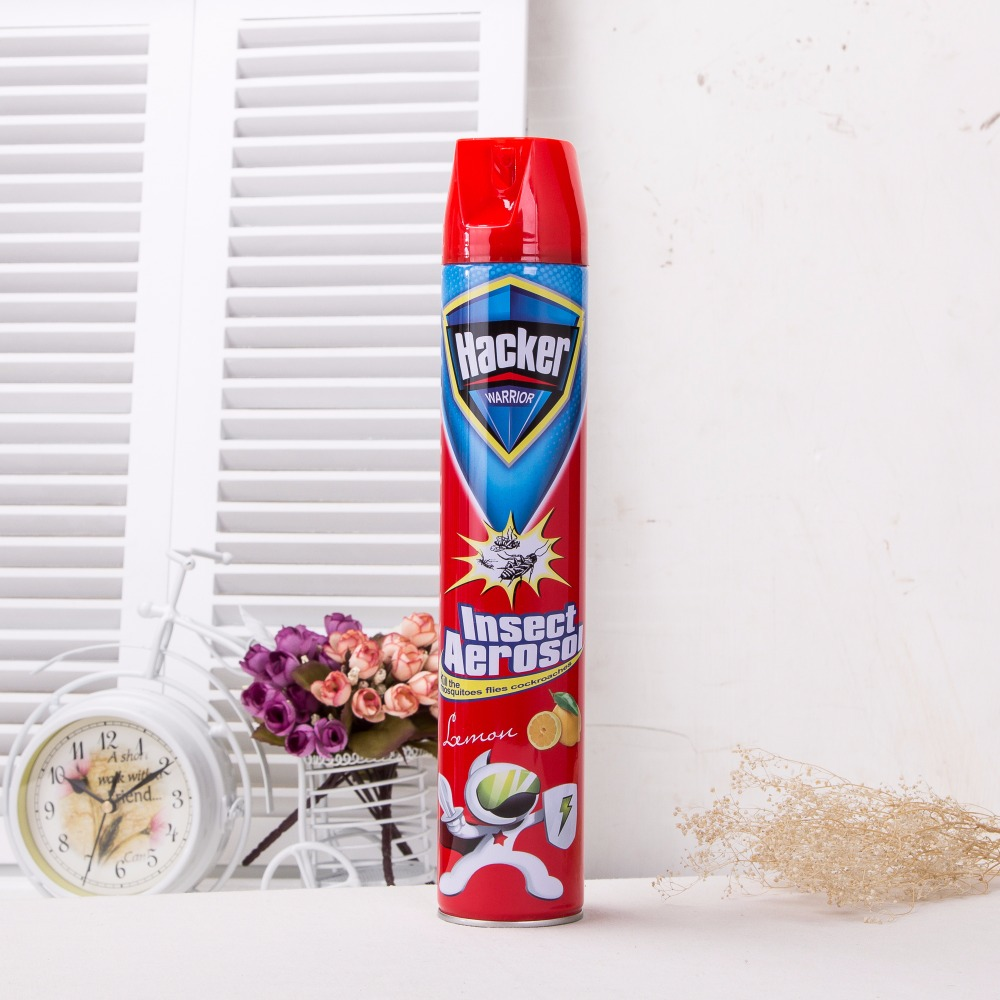 750 ml mosquito aerosol spray water/oil based insecticide for pest/cockroach/mosquito
