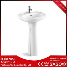 Ceramic Sanitary Formal Colored Bathroom Sink For Barber