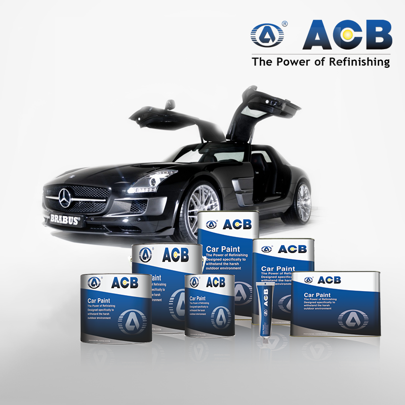 ACB Auto body shop lacquer base varnish for metal coating