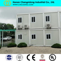 Prefabricated multi-storey office industrial building