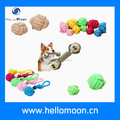 Hellomoon Wholesale Colourful Cotton Ball Dog Rope