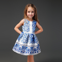 2016 Top fashion New Beautiful 100% Cotton12 year girl without dress
