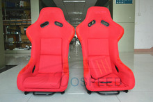 Newest design MJ racing car seat/ carbon fiber racing seat/sport racing seat