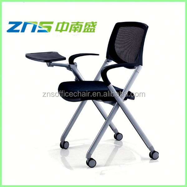 893XAHLY ISO stackable folding writing table chair for office