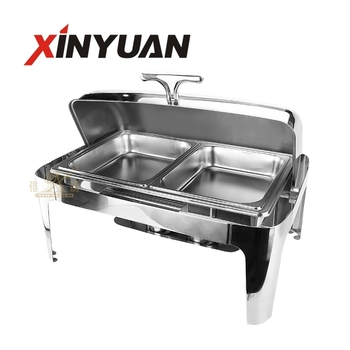 Wholesale hotel restaurant Economic stainless steel rectangular chafing dish