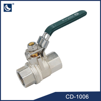 Forged Brass Ball Valve Dn20 For