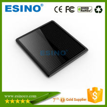 Solar panel 5V 2.1A dual USB portable mobile solar power bank 5000/10000/12000 mah for mobile phones