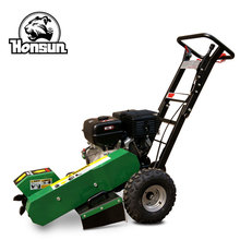 Germany Wan Exhibition invited 9 teeth Honda GX390 gasoline engine stump grinder machine