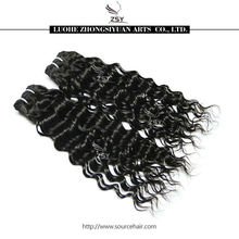 ZSY 2014 hot sale high quality human hair 27 piece hair weave