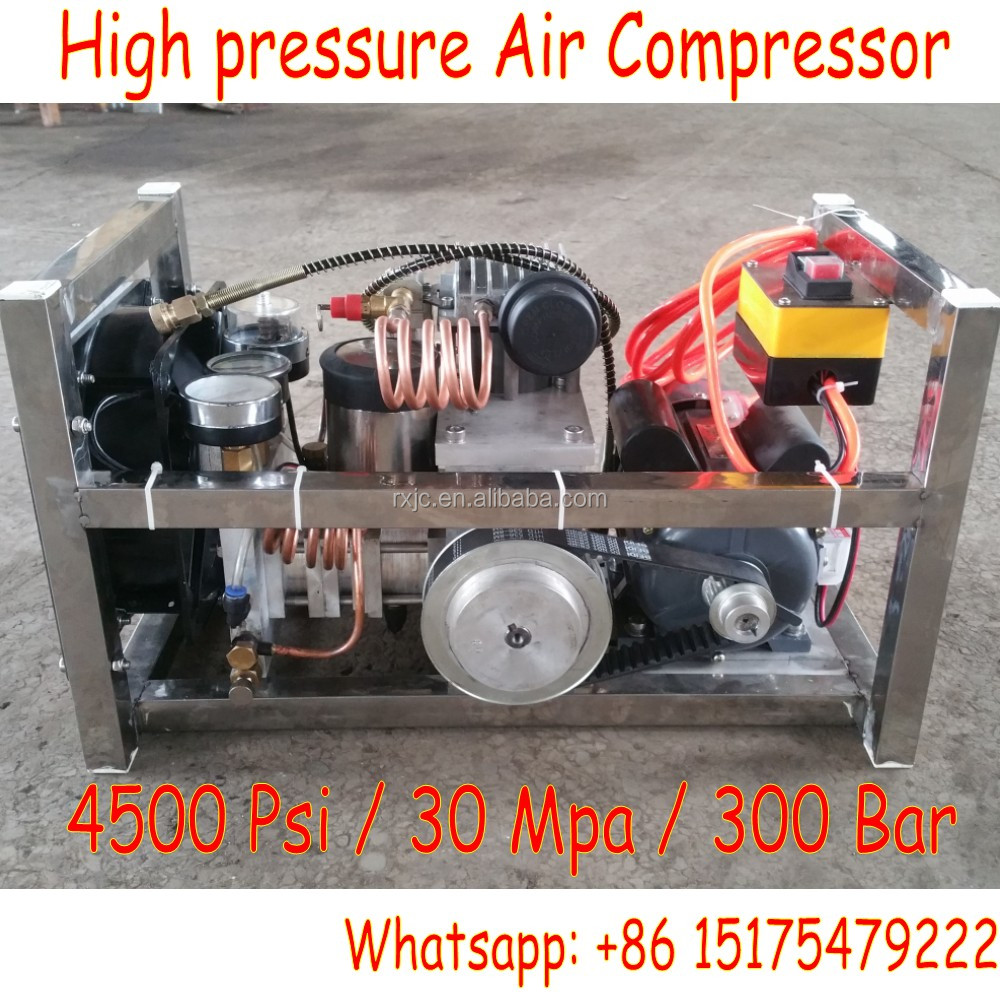 Updated 3 stages compress arizona air compressors 4500 psi