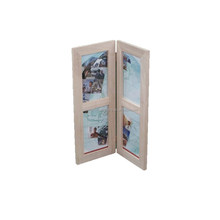 Folding wood super quality wooden photo frame