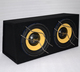China factory dual 12 inch subwoofer box