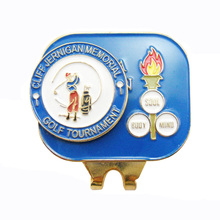 golf magnetic hat clip golf ball marker