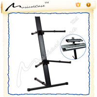 Double tier modern keyboard stand music