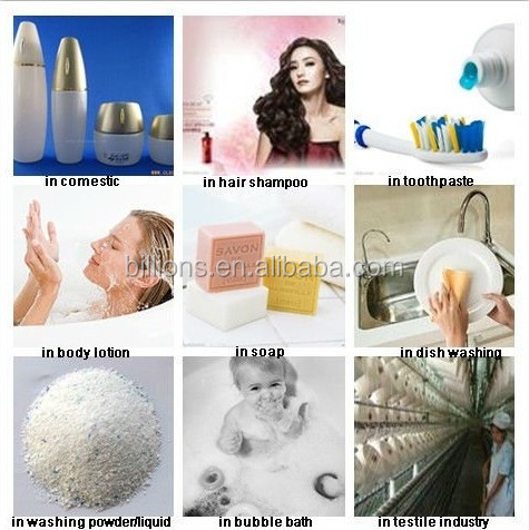 Directly manufacturer sodium lauryl ether sulfate SLES 70% in detergent raw material