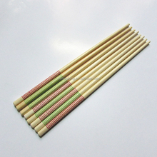 eco-friendly wholesale wooden chopsticks with stripe