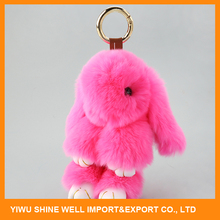 Fast Delivery Hot Sale Trendy Style Lovely Plush Animal Toy Custom Keychain