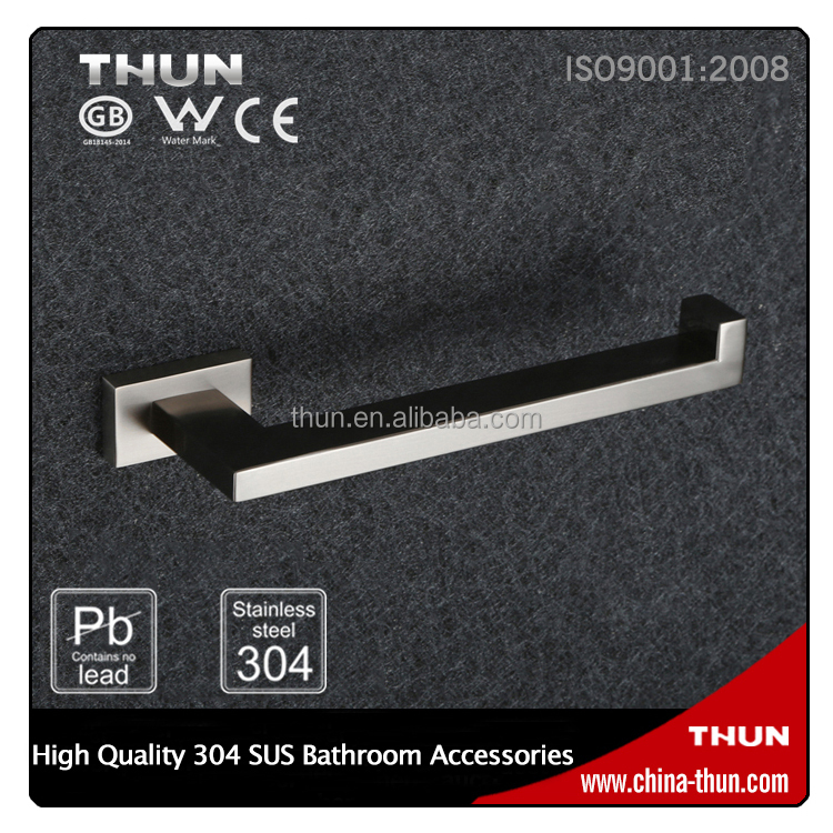 THUN 304 stainless steel wall mount hotel hand towel holder