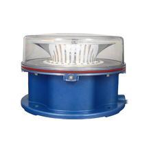 Tempered glass covered Aircraft warning light with photocell