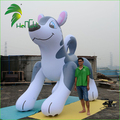 Giant Inflatable White Husky Dog Toy, Qute Flying Animal Cartoon Model, Giant Inflatable Dog