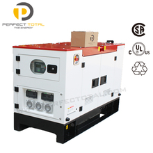 9KW small silent diesel genset with PERKINS engine