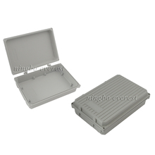 IP67 Waterproof Aluminum Die Casting Box With Customized Drilling