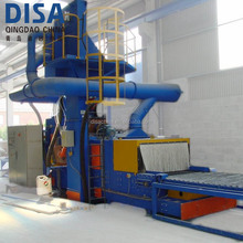 Continuous Polishing Floor Equipment Tile Paver Block Shot Blasting Machine