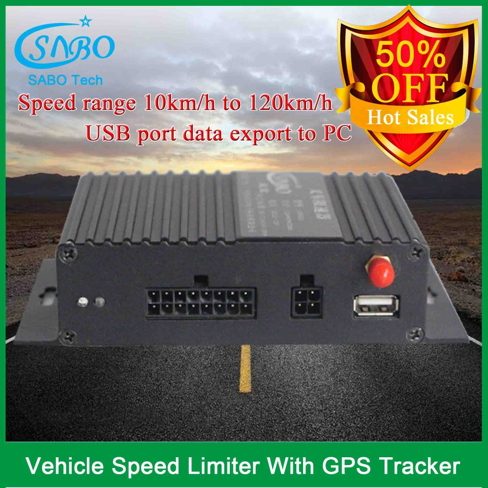 Black car speed limiter cdi with gps tracking system