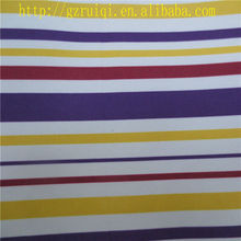 300D Striped Waterproof Fabric for Tents
