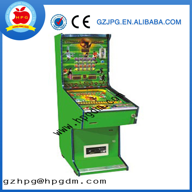Single player children's pinball game machine