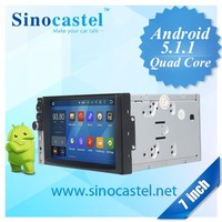 Factory price for 7.0 inch Android OS HD capacitive touch screen GPS navigation Bluetooth with A2DP DVD player for car