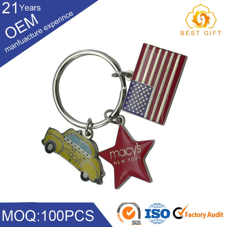 soft enamel keychain supplier cheap keyring wholesale