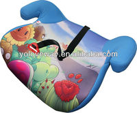 baby safety car seat cushion with ECE R44/04 with full cover