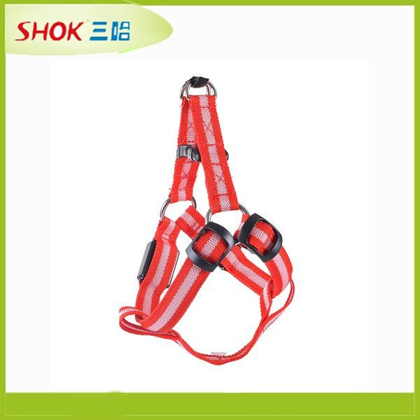 Fashion high-end metal chain dog harness