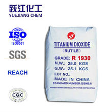 Industrial Grade Titanium dioxide Rutile Pigment for Paints
