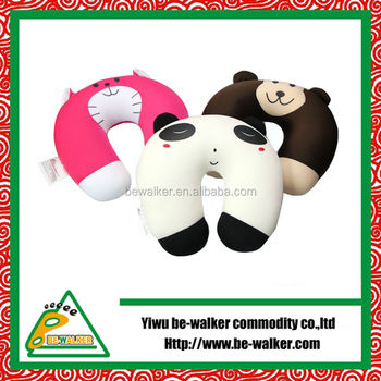 China Home Textile Factory Anime Adult Animal Shaped Funny Neck Pillow