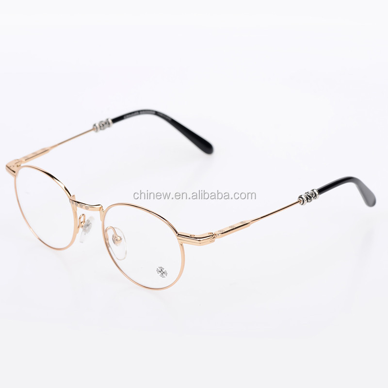 Gold Metal Glasses Frames : Ee 2016 New Style Design Frames Eyewear Frames Gold Metal ...