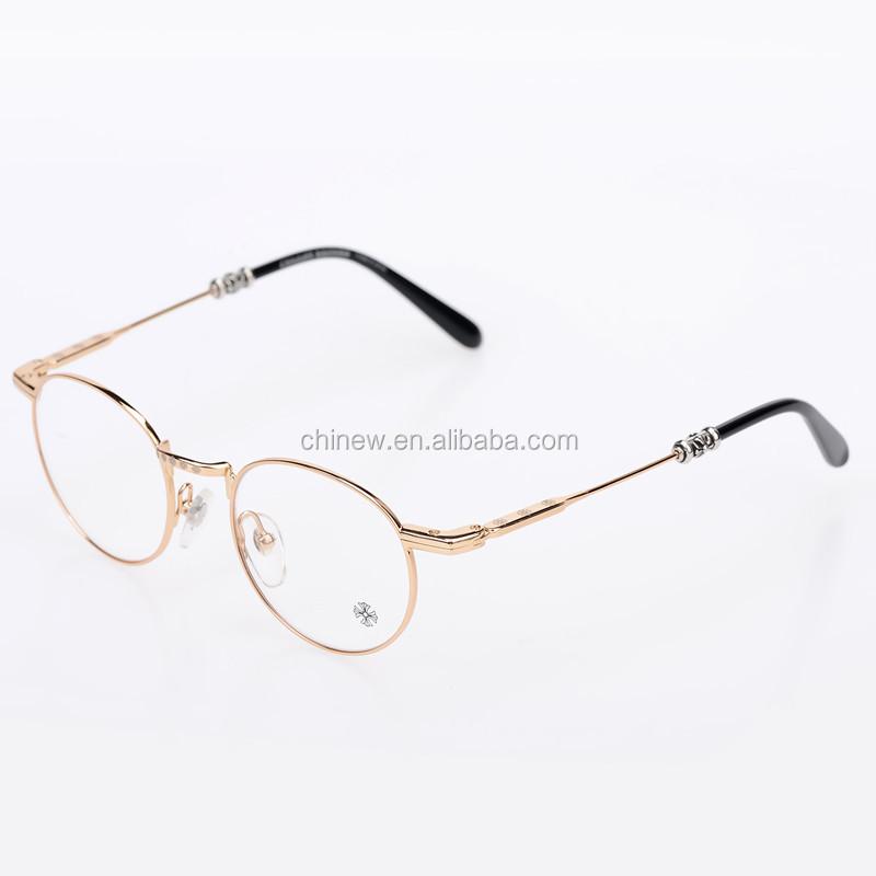 Ee 2016 New Style Design Frames Eyewear Frames Gold Metal ...