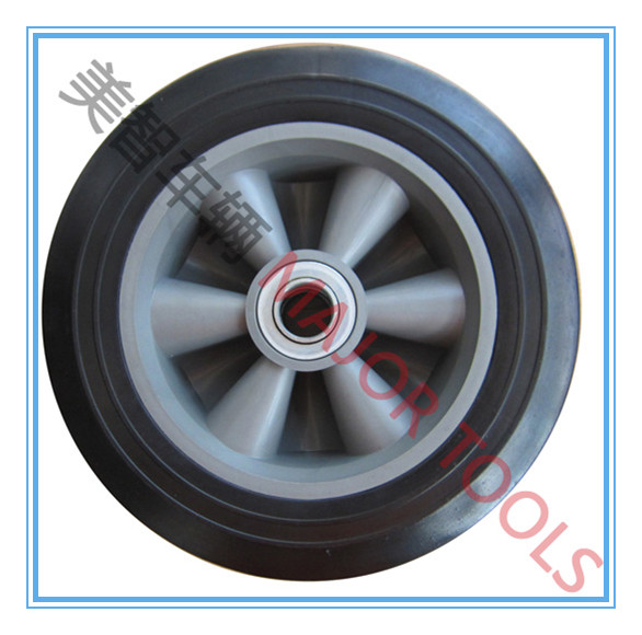 8x2.2 solid rubber tyre wheelbarrow wheel