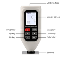 Digital Coating Thickness Tester / Paint Thickness Gauge Meter